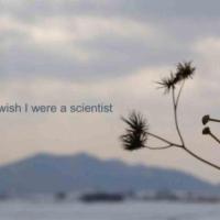 I wish I were a scientist