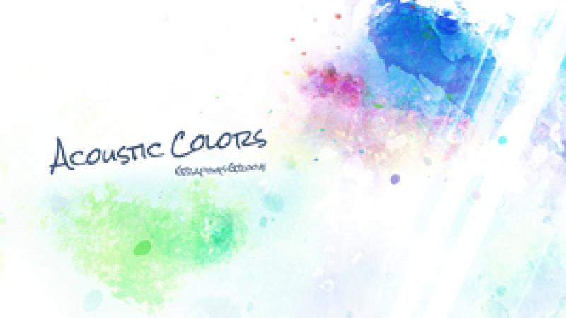 [Album] Acoustic colors / graphiqsgroove