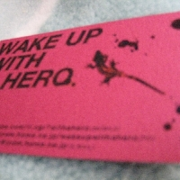 WAKE UP WITH A HERO