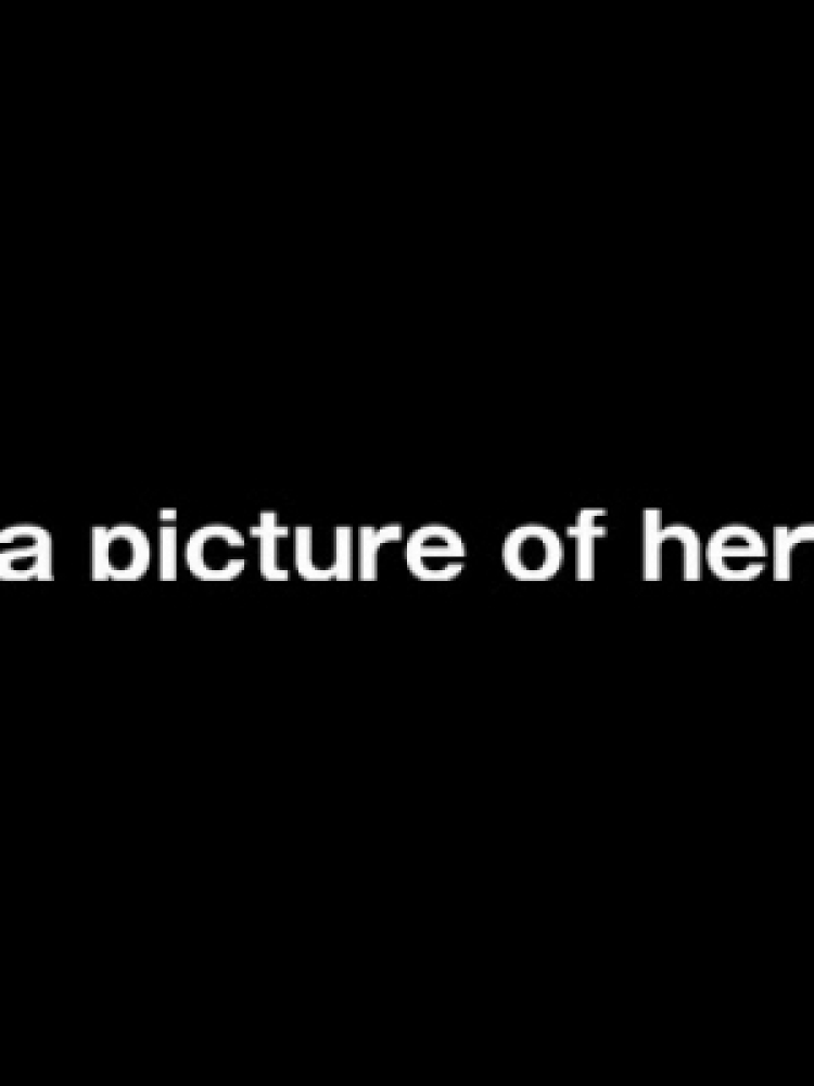 a picture of her
