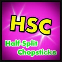 Half-Split Chopsticks