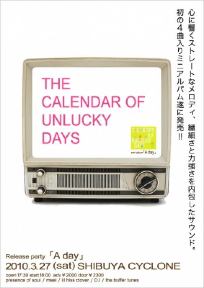 the calendar of unlucky days